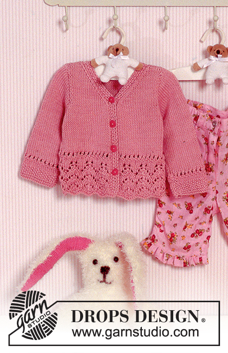 Knitted Drops Jacket With Pattern In Muskat Maglioni Per Bambino A Maglia Cappelli A Maglia Per Bambino Maglia Del Bambino