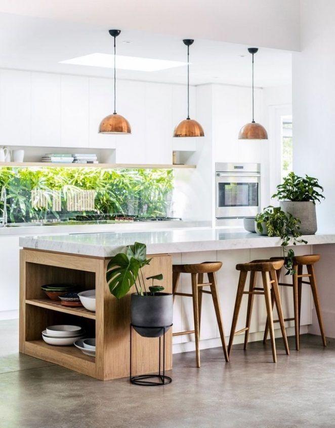 27 idées  inspirations de cuisine avec Îlot central