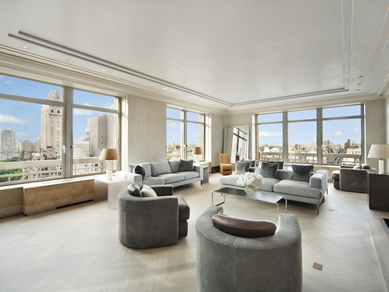 Ny New York 515 Park Avenue Penthouse Beautiful Living Rooms Home Luxury Real Estate