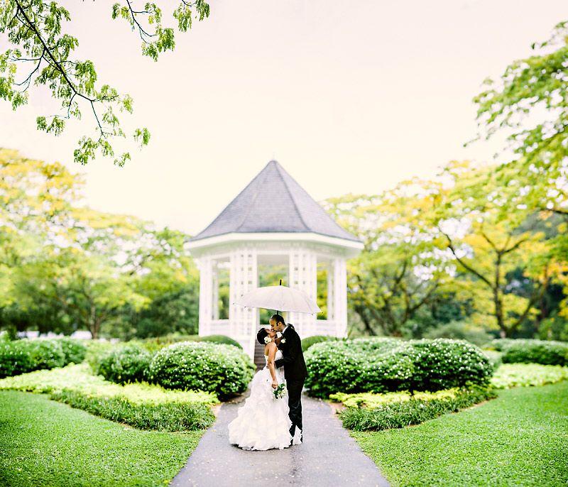 Singapore Botanic Gardens in 2019 Pre wedding photoshoot
