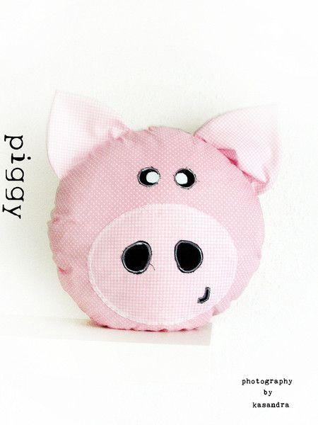 Poduszka Piggy Kasandra76 Poduszki Dla Dzieci Diy I