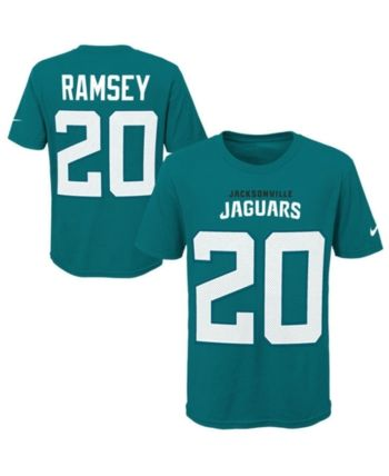 more photos 30e46 32f80 Nike Jalen Ramsey Jacksonville Jaguars Pride Name & Number ...