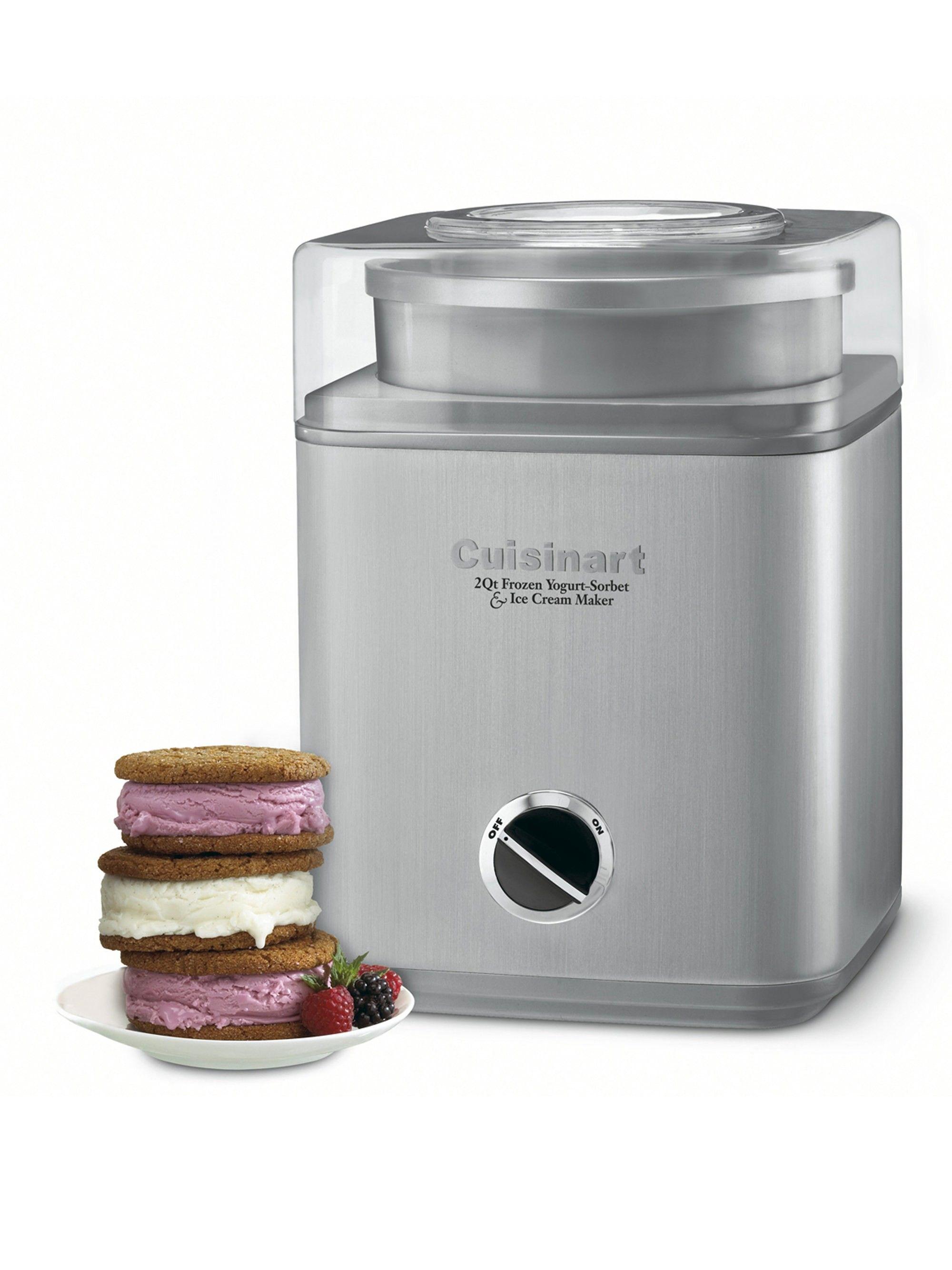 Cuisinart Pure Indulgence 2 Quart Ice Cream Maker Best Ice Cream Maker Sorbet Ice Cream Ice Cream Maker Reviews