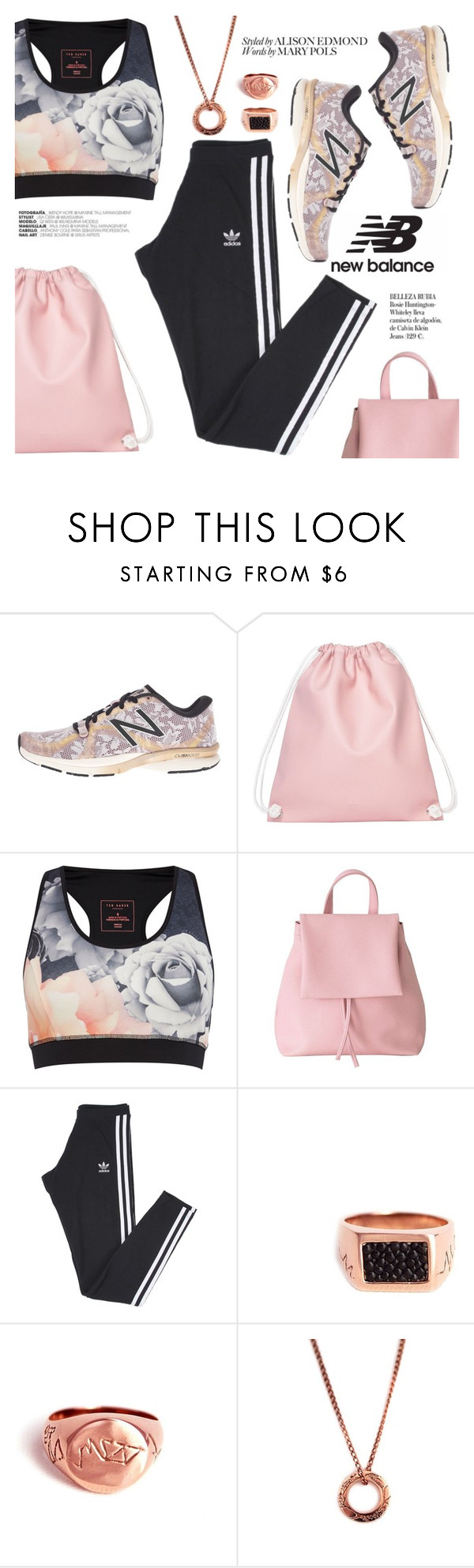 """""""Run the World in New Balance"""" by thepommier ❤ liked on Polyvore featuring New Balance, Ted Baker, adidas, Whiteley and NewBalance"""