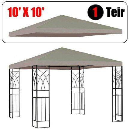 Install Best Gazebo Replacement Canopy Darbylanefurniture Com In 2020