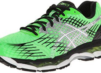 Asics GEL Nimbus 17 Lite Show Running Shoes For Men(Black)