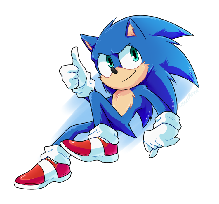 Meow So The Redesign Is Out Baby Has Finally Landed Sonic Hedgehog Movie Sonic The Movie
