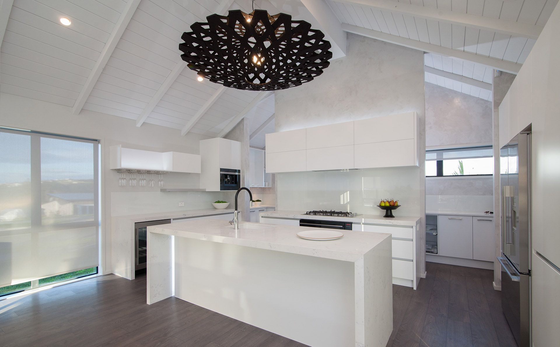 A Massive Kitchen And Scullery Running Along Behind. With
