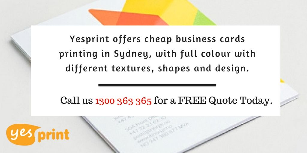 Yesprint offers cheap business cards printing in sydney with full yesprint offers cheap business cards printing in sydney with full colour with different textures reheart