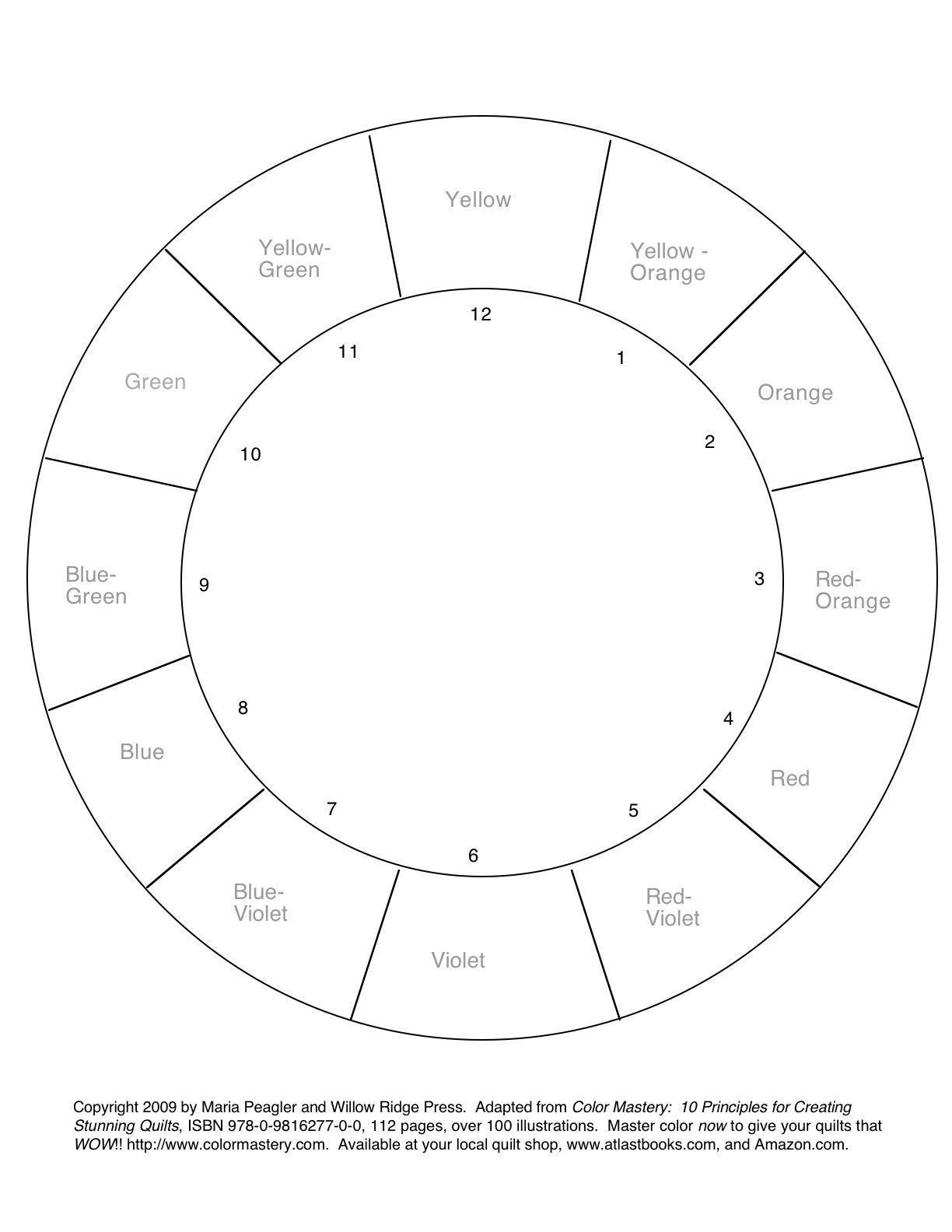 Free Printable Color Wheel 36 Coloring Sheets Gianfreda