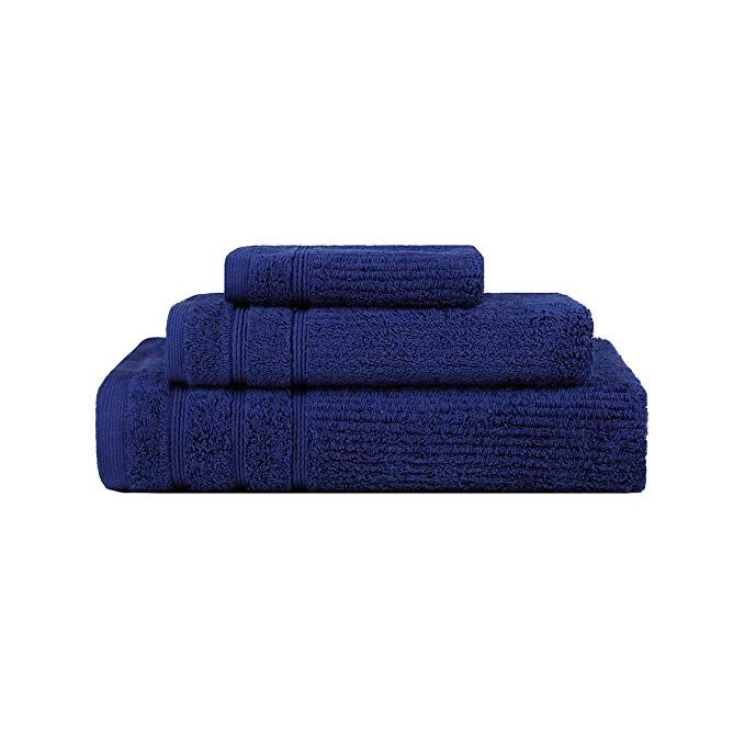 Royal Blue Terry Towel Wrap