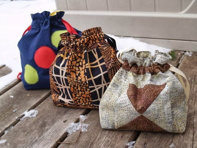 sewing tutorial: project bag (With images) | Sewing ...