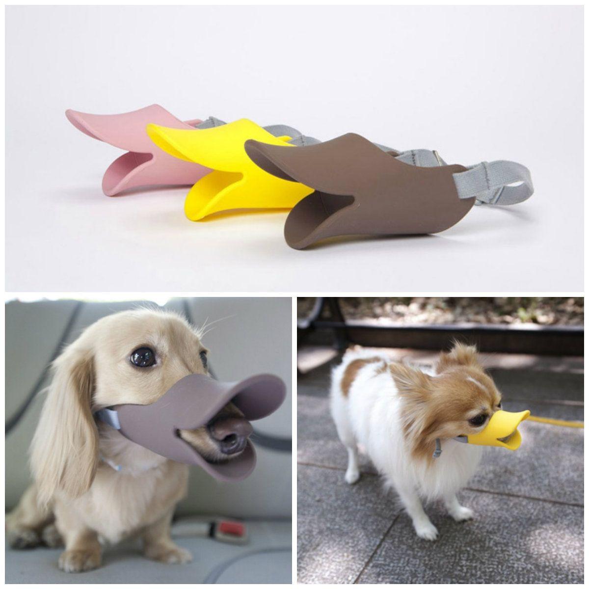 Bozales con forma de pico de pato para perros - Oppo Dog Muzzle ...