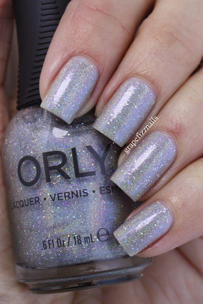 Orly Mirrorball (grape fizz nails) | Nail blog, Nail nail and Pedicures