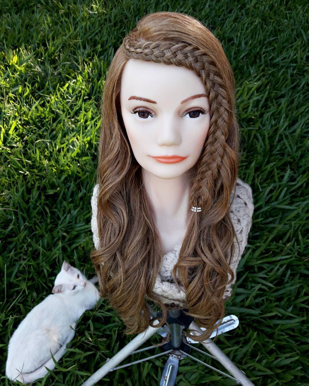 """Monik On Instagram: """"Hola Chicas🙌 Les Presento Mi Estilo Del Día Una Trenza De 5😍😍 El Modelo Es Inspirado En Brianasbraids 💖💖 Tambien Nos Unimos A Un Twin De…"""" - Hair Beauty"""