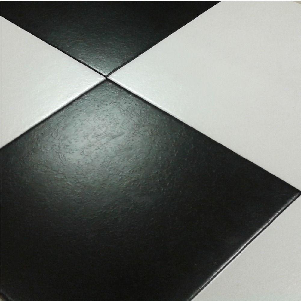 Ceramica piso blanco negro texturada 35x35 1 calidad for Fotos de pisos de ceramica