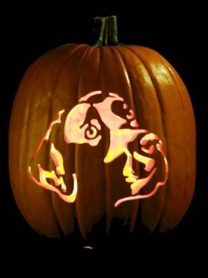 pumpkin template labrador  labrador retriever pumpkin stencil | Masterpiece Pumpkins ...