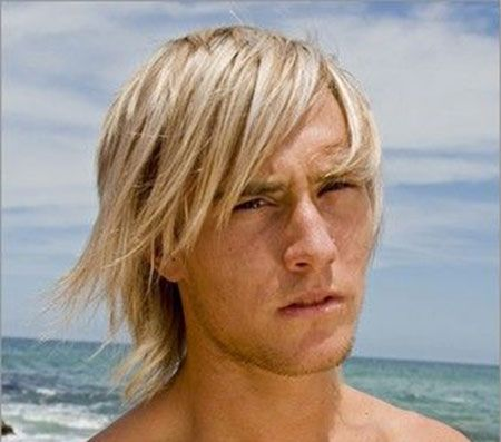 Cool Long Straight Surfer Hairstyle for Men 17 Check more at ...
