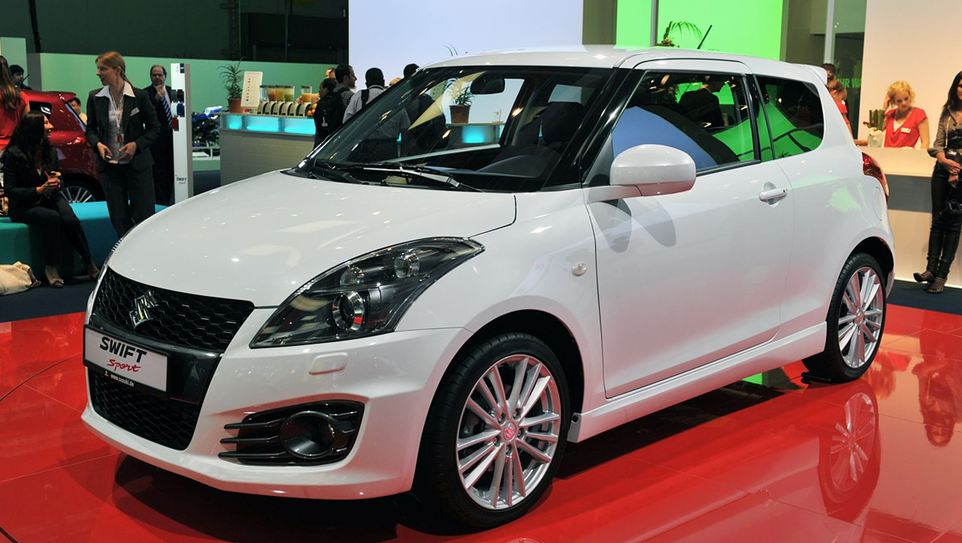 New model of maruti swift with sport look having 2 doors starting price base model lac by december it s production has started booking from september