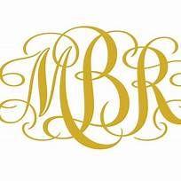 Download Images | Free monogram fonts, Cricut monogram font ...