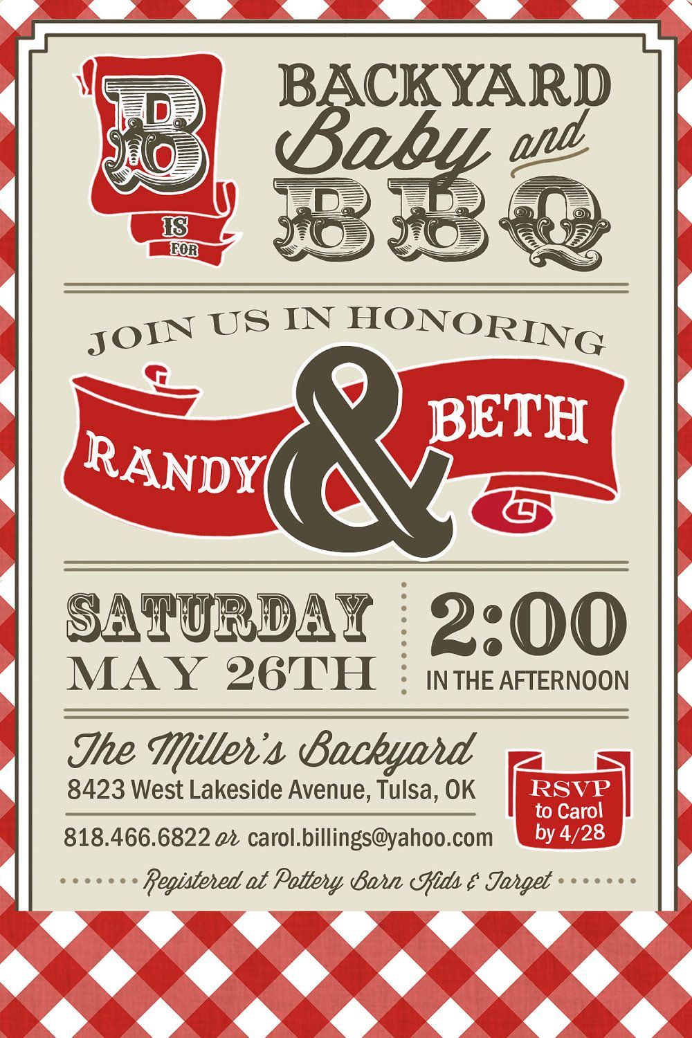 PRINTABLE - Couples BBQ - Baby Shower Invitation - Digital | I\'m ...