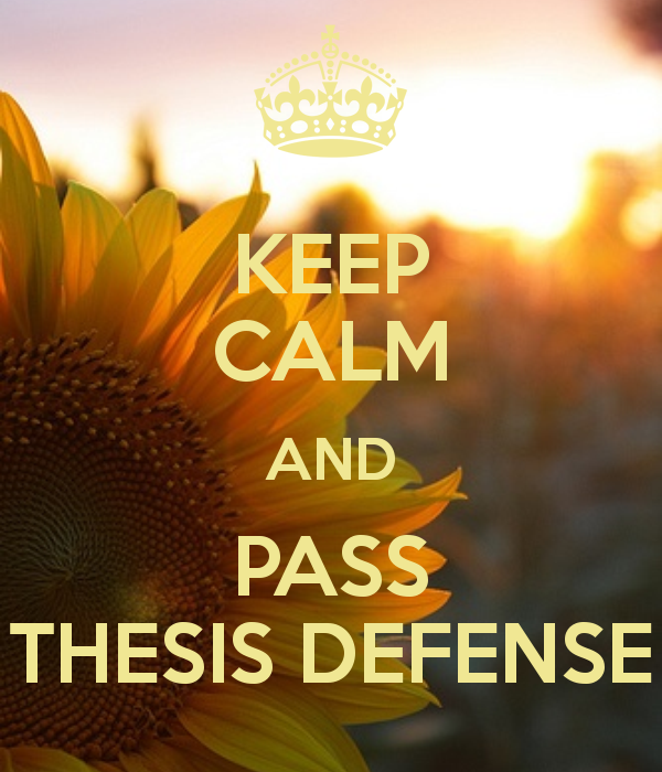 Sample Prayer For Defense Of Thesis
