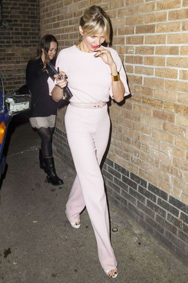 LFW Edition: Cameron Diaz in Emilia Wickstead
