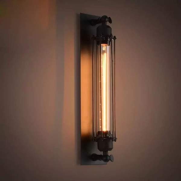 Style Vintage Bar Wall Lamp