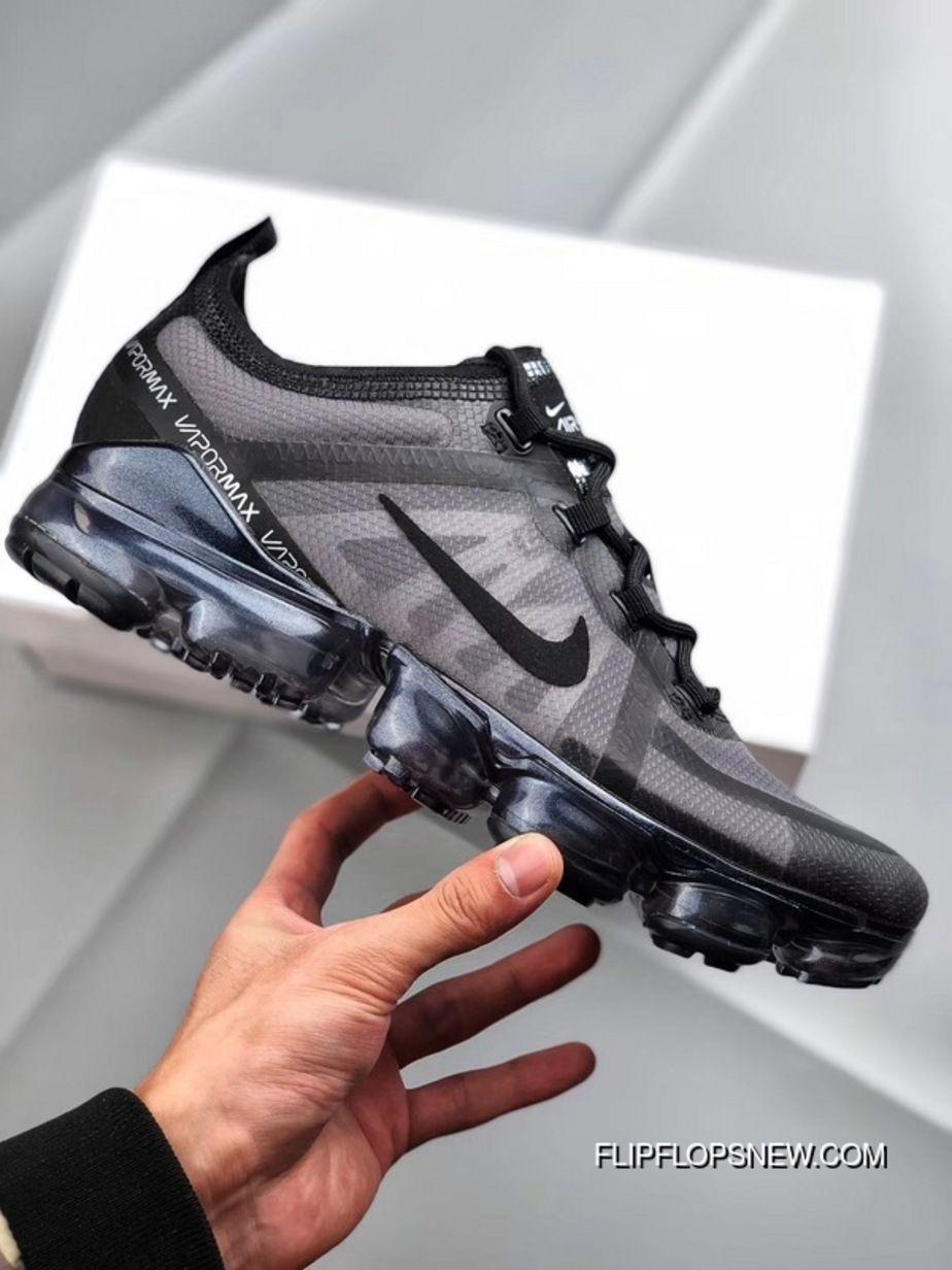 267b90b4dbb2a Nike Air VaporMax 2019 2019 Sneaker AR6631-004 Black Blue WMNS Sneaker  Discount
