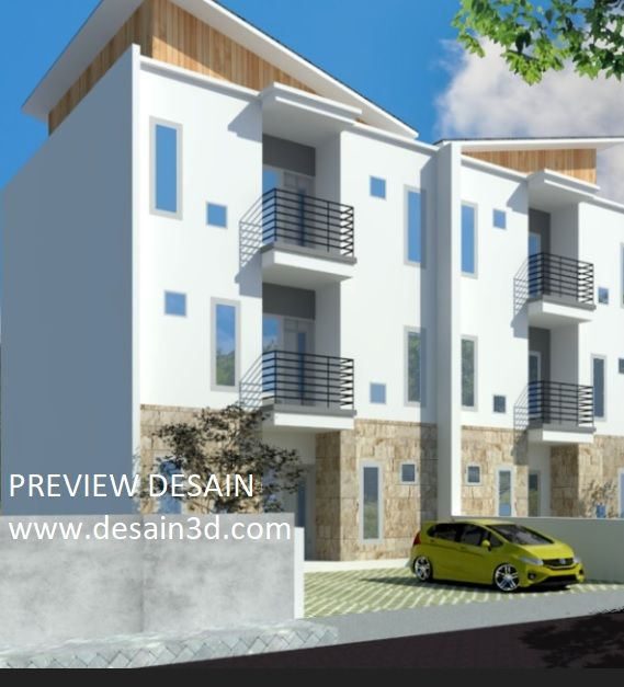 Jasa desain 3d rumah kos 2 lantai murah berpengalaman ...