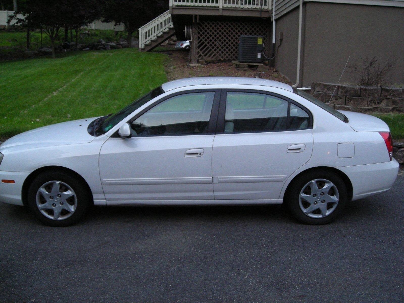 EBay: 2005 Hyundai Elantra 2005 HYUNDAI ELANTRA GLS 4 DOOR (GREAT PARTS CAR