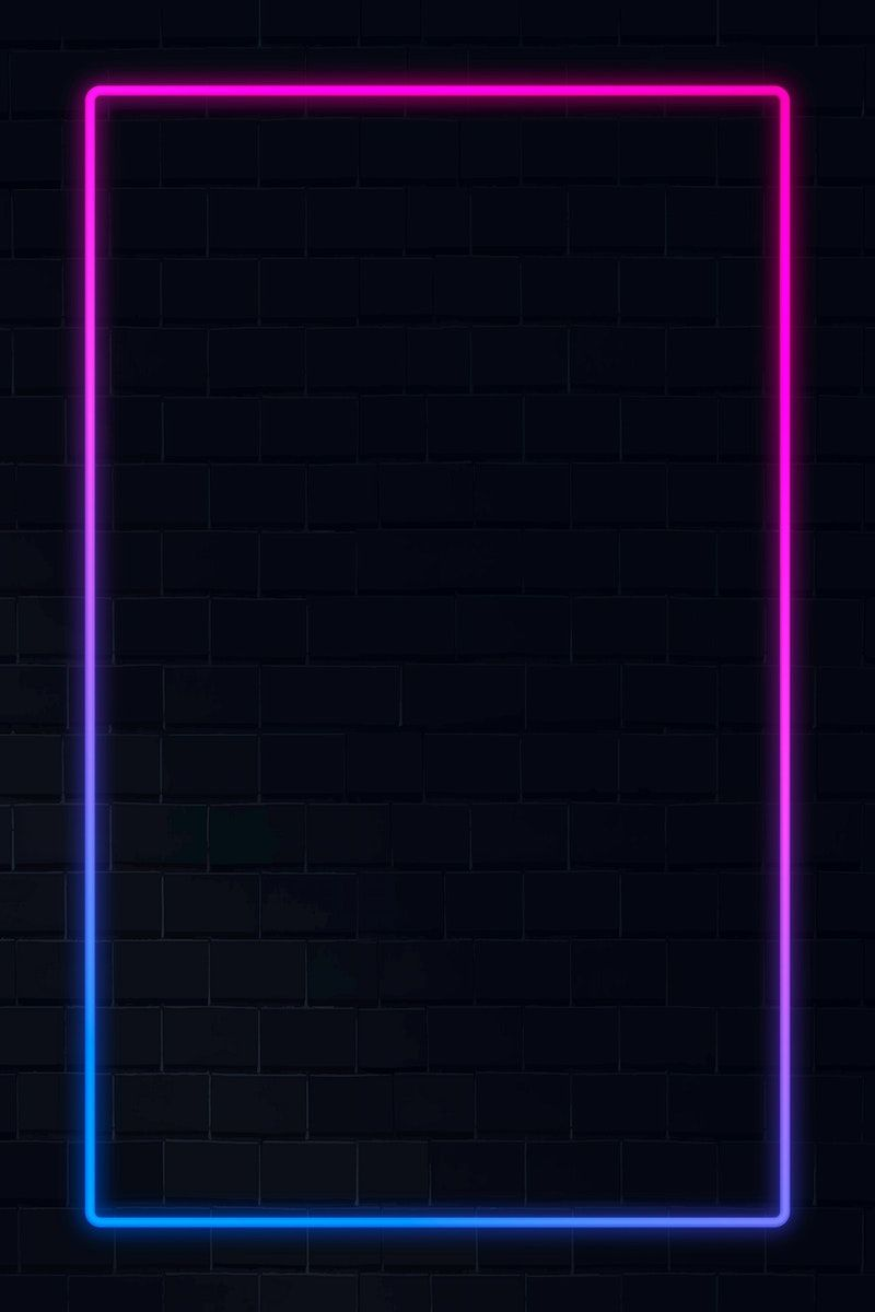 Pink And Blue Neon Frame Neon Frame On A Dark Background Vector Free Image By Rawpixel Com Aum Wallpaper Iphone Neon Pink Neon Wallpaper Neon Backgrounds