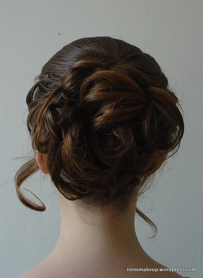 Chinese Bridal Hairstyle Soft Romantic Updo Updo