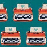 Ruby Star Shining Typewriters