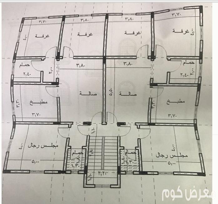 شقتين متجاورتين للايجار Simple House Plans Home Design Floor Plans House Layout Plans