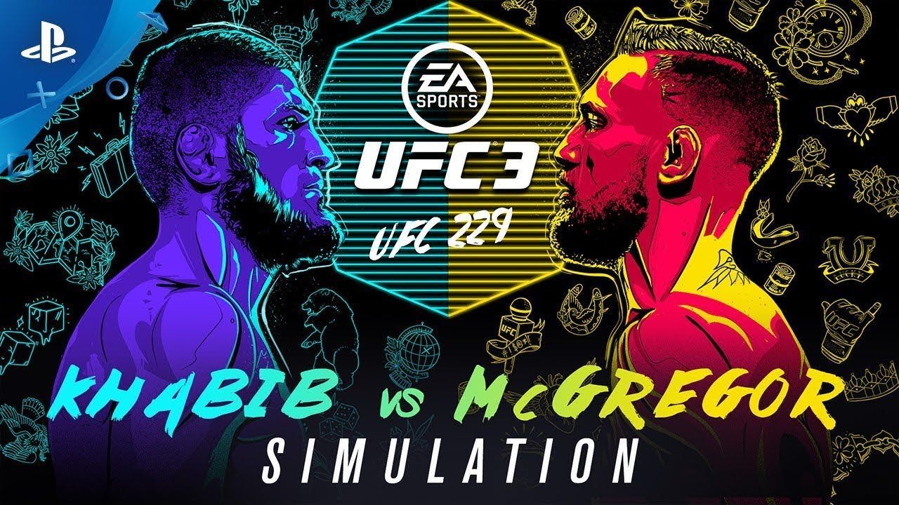 Ea Sports Ufc 3 Ufc 229 Simulation Khabib Vs Mcgregor Ps4 Ea Sports Ufc Ufc Ea Sports