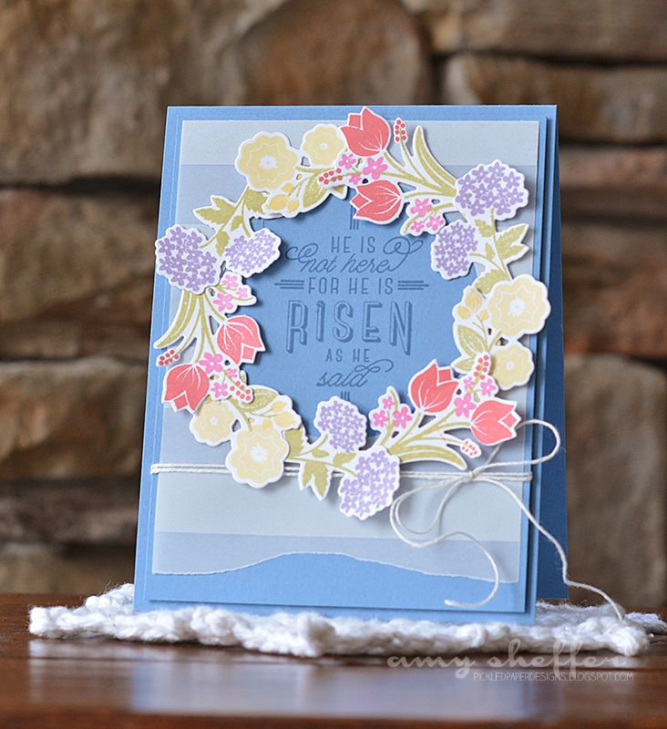 He Is Risen Card by Amy Sheffer for Papertrey Ink (February 2015)