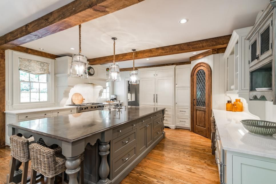 Fresh Farmhouse Kitchen In Atlanta Ga 2018 Hgtv S Ultimate House Hunt Hgtv In 2020 Spanish Style Homes Kitchen Decor Cool Kitchens
