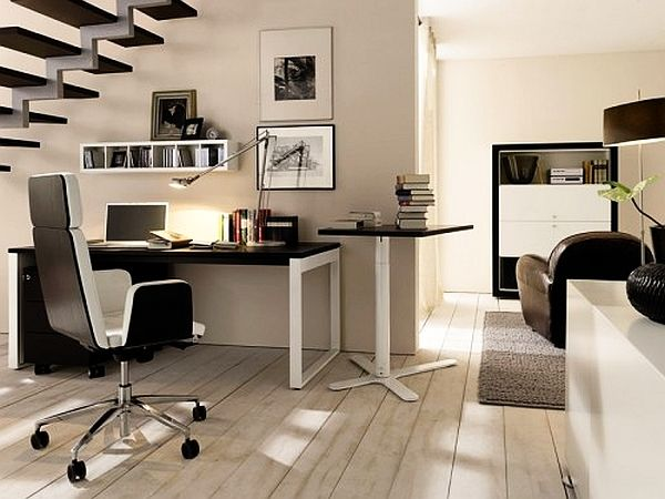 Home Office Desk And Furniture 20 Home Office Decorating Ideas For A Cozy Workpla Office Interior Design Modern Modern Home Office Furniture Home Office Design