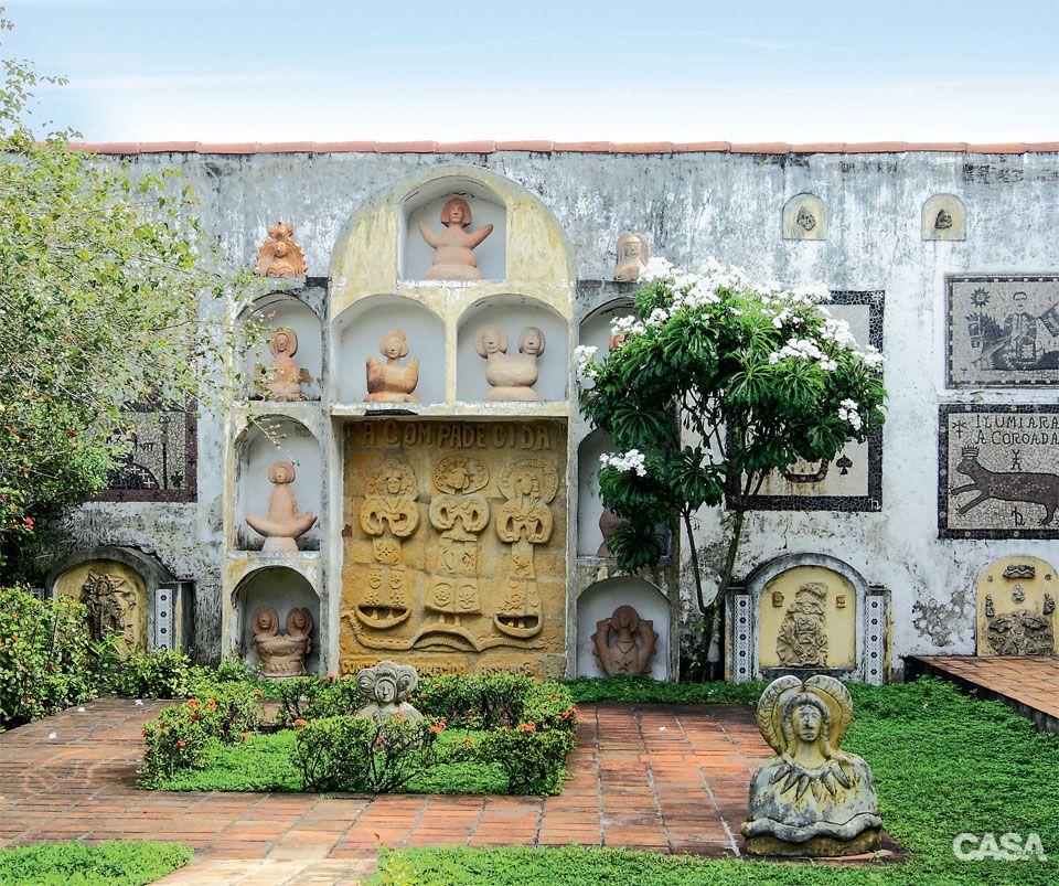 Ariano Suassuna Casa Claudia Visitou A Casa Em Que O Escritor