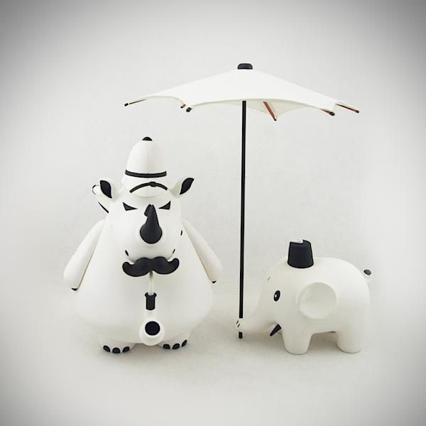 Frank Kozik: William Henry & Reginald. Black & White Edition.
