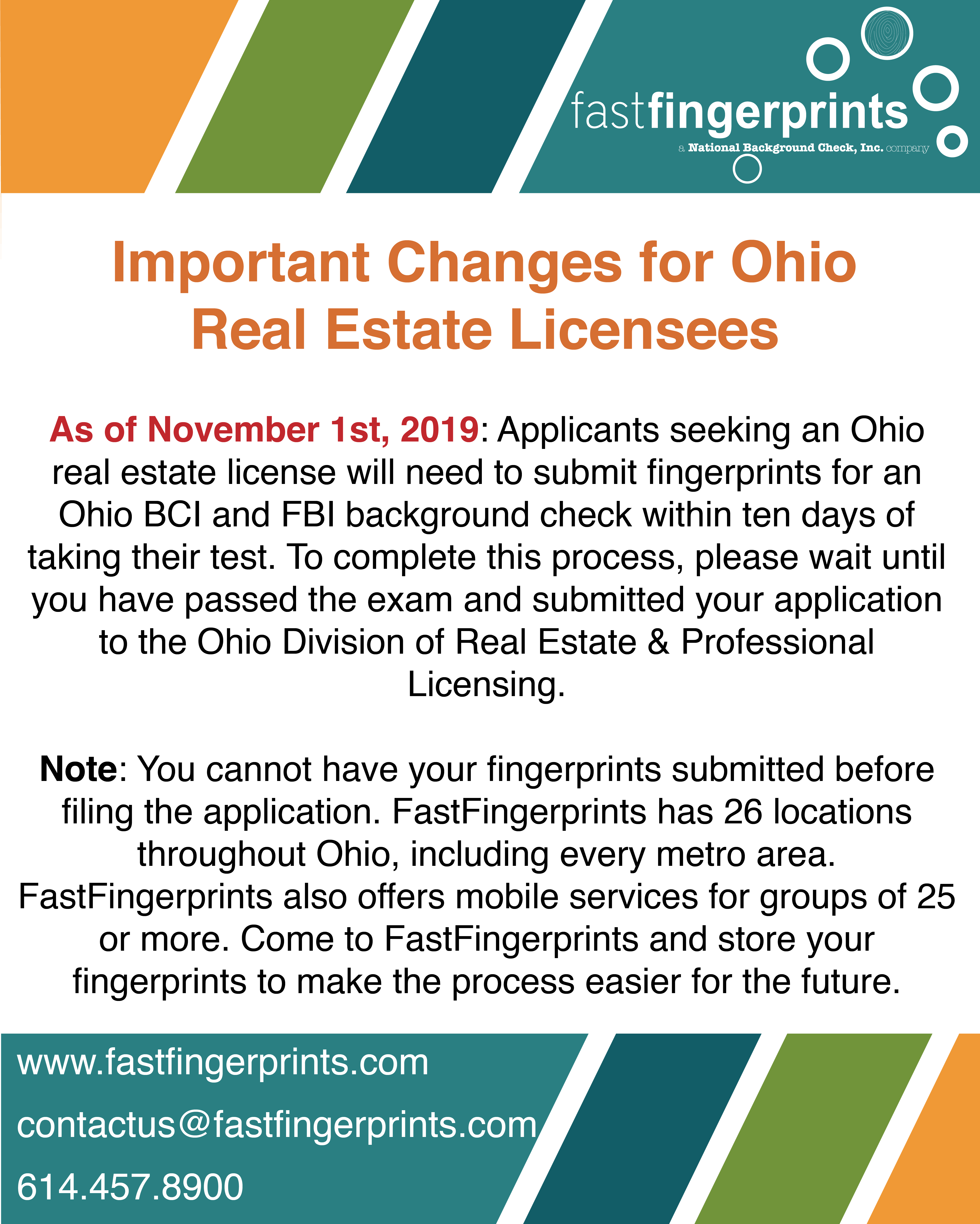 Important Changes For Ohio Real Estate Licensees Ohio Real Estate Background Check Ohio