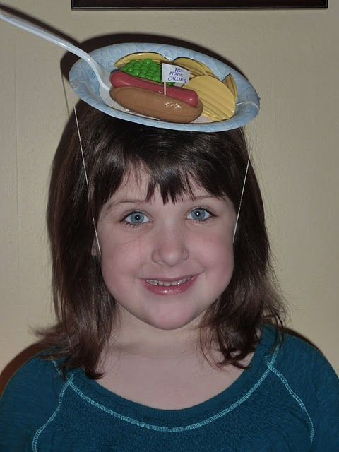 crazy hat day - picnic hat #crazyhatdayideas
