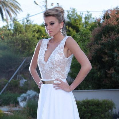 Check out this item in my Etsy shop https://www.etsy.com/il-en/listing/262435408/white-wedding-dresswedding-dress-open