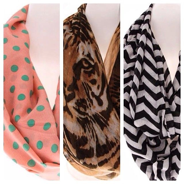 Accessorize with a light scarf to spice up any outfit! #tipoftheday