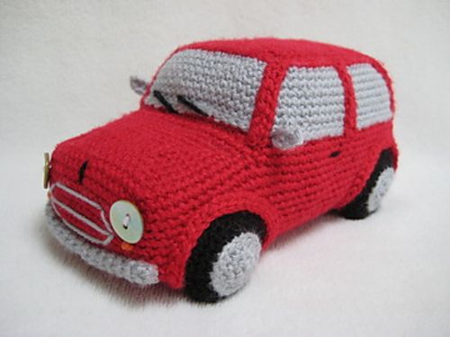 Amigurumi Classic Mini Car Pattern By Millionbells Pinterest
