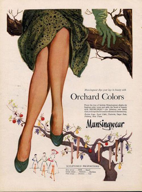 Munsingwear hosiery, 1952