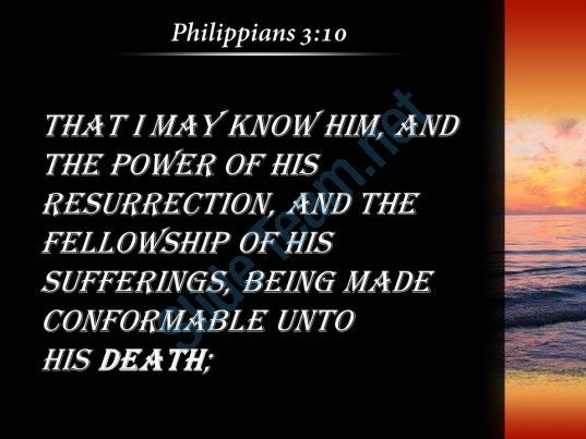 philippians 3 10 the power of his resurrection powerpoint church sermon Slide05  http://www.slideteam.net/