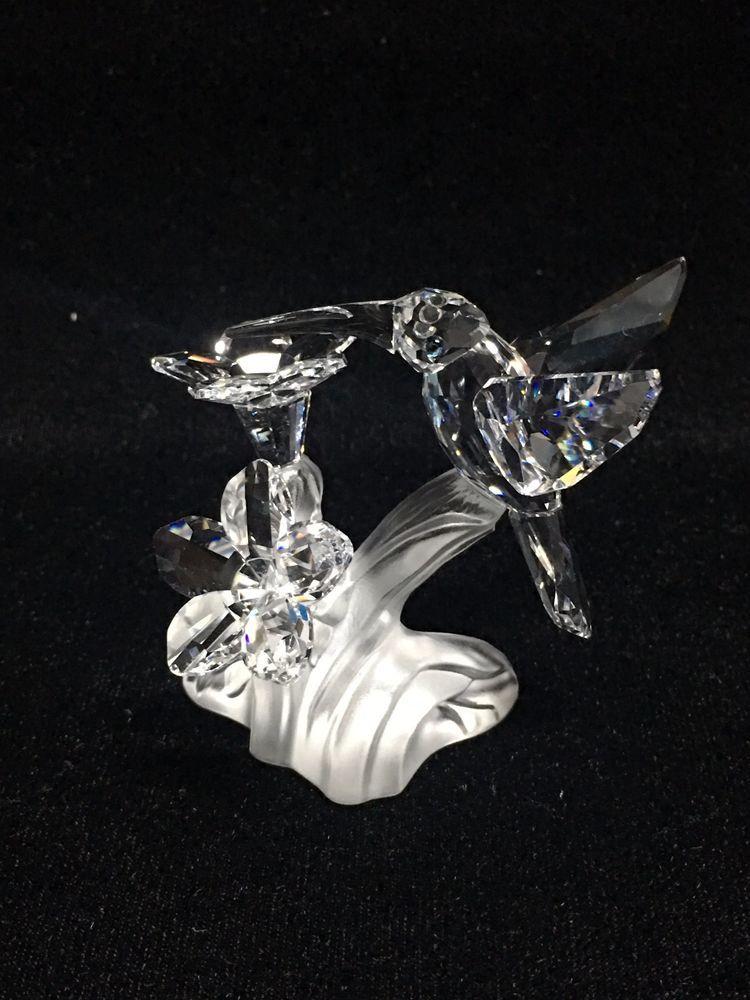 Swarovski Crystal Hummingbird Figurine No Box Swarovski