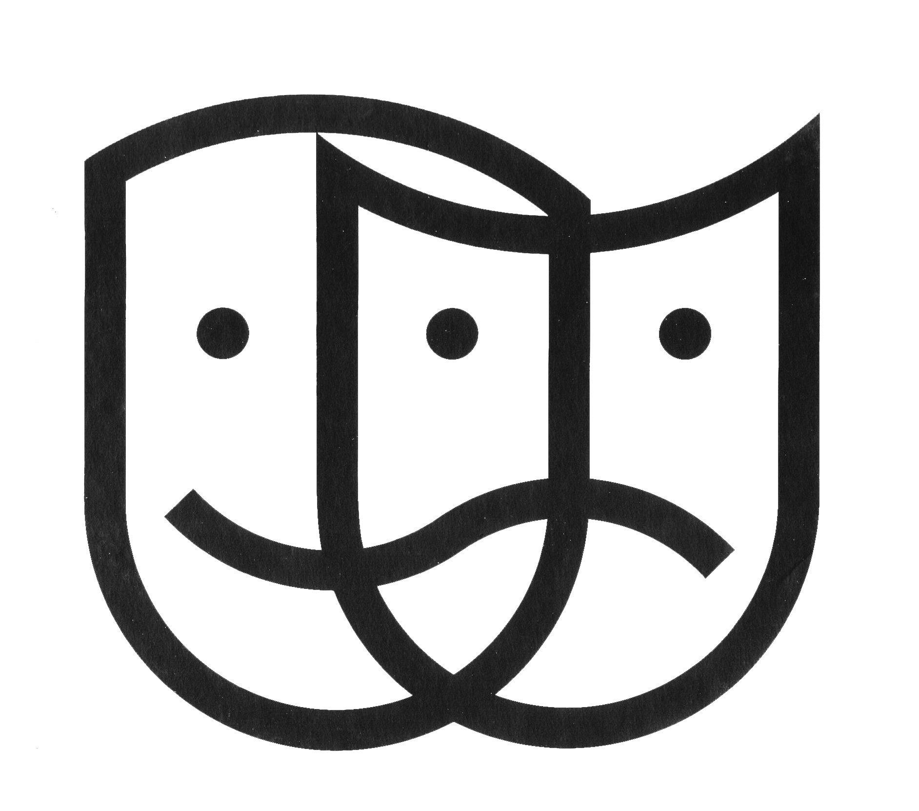 Images Of Theater Masks Clipart Best Theatre Masks Theatre Logo Theatre Symbol